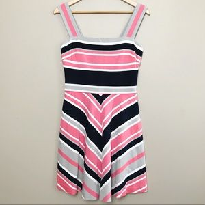 Banana Republic Milly Collection Stripe Dress 6